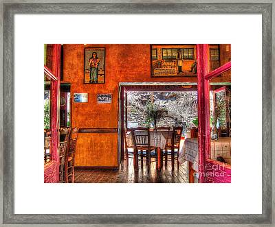 Cafe Municipal Framed Print by Andreas Thust