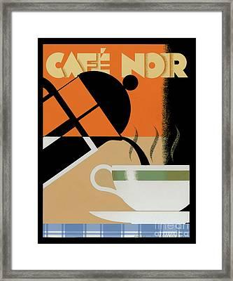 Cafe Noir Framed Print by Brian James