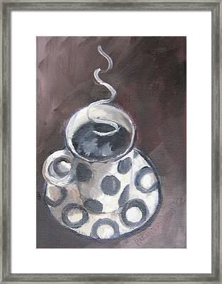 Cafe Noir Framed Print by Susan Richardson