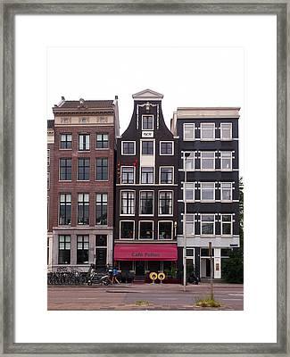 Cafe Pollux Amsterdam Framed Print