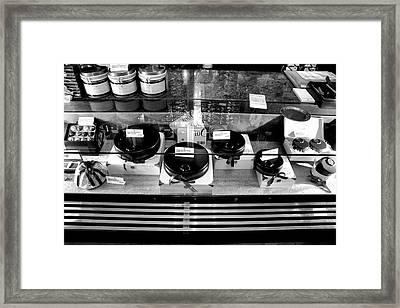 Cafe Sacher Treats Salzburg Framed Print