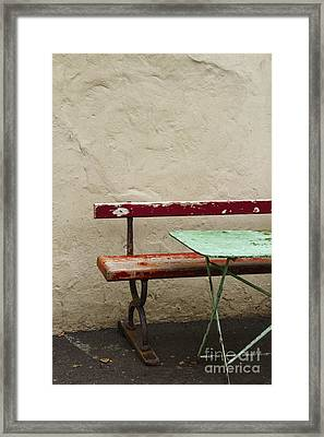 Cafeteria Framed Print by Margie Hurwich