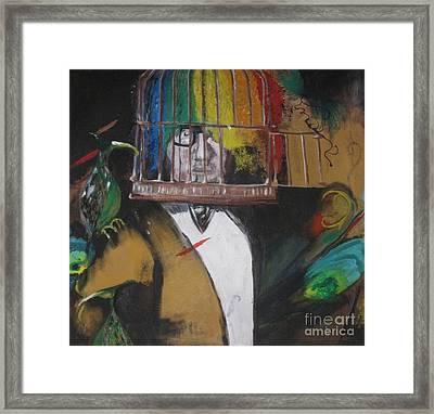 Caged 2 Framed Print