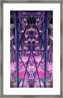 Caged 2 Framed Print by Karen Newell