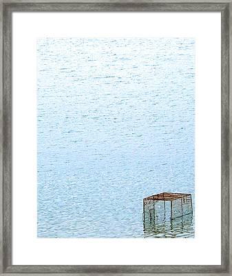 Caged Expanse Framed Print by Kaleidoscopik Photography