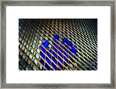 Caged Framed Print by The Stone Age