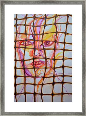 Caged Framed Print by Vivianne Maloney
