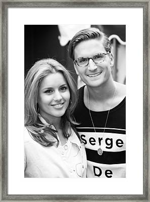 23a0a5f4a2 Caggie Dunlop Oliver Proudlock Framed Print by Jez C Self