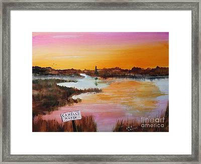 Cahills Marsh Framed Print by Jack G  Brauer