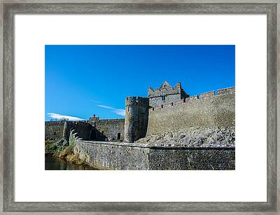 Cahir Castle Framed Print by AMB Fine Art Photography