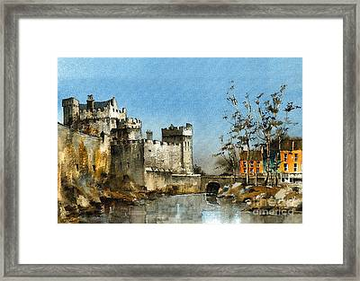 Cahir Castle  Tipperary Framed Print