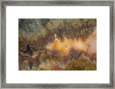 Cahllis Volcanics Agate Framed Print by Leland D Howard