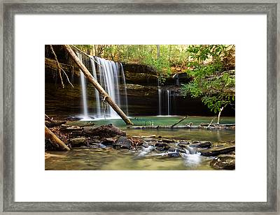 Cainey Creek Falls Framed Print by Scott Moore