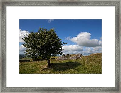 Cairn D On Carbane West, Loughcrew Framed Print by Panoramic Images