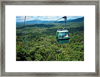 Cairns, Australia, Kuranda Rainforest Framed Print by Miva Stock