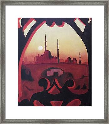 Cairo At Egypt Framed Print by Suzanne  Marie Leclair