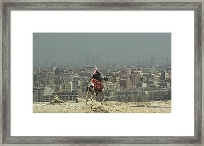 Cairo Egypt Framed Print by Jennifer Wheatley Wolf