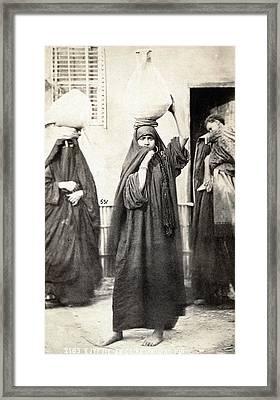 Cairo Women Framed Print