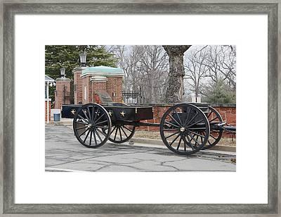 Caisson  Framed Print