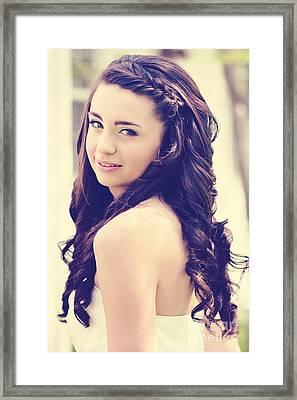 Caitlyn Framed Print