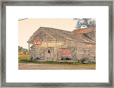 Cajun Art Framed Print
