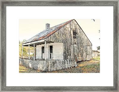 Cajun Cabin Framed Print