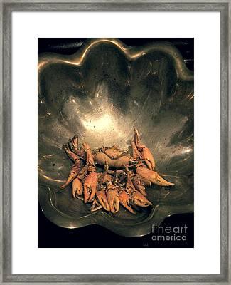 Cajun Cornucopia Framed Print by Joe Jake Pratt