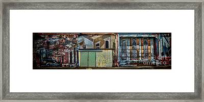 Cajun Style  Framed Print by Richard Mason