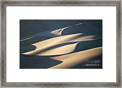 Cake Frosting Framed Print by Michael Cinnamond