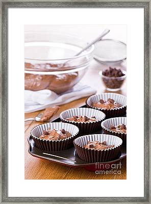 Cake Mixture Framed Print by Amanda Elwell