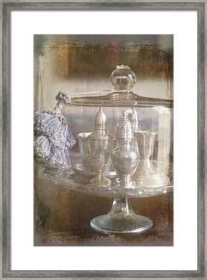 Cake Stand With Tassel Framed Print by Suzanne Powers