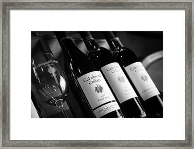 Cakebread Cellars Framed Print by Peak Photography by Clint Easley