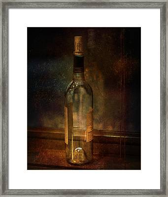 Cakebread In Window Framed Print