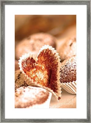 Cakes Framed Print by Michal Bednarek