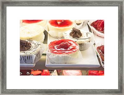 Cakes Framed Print