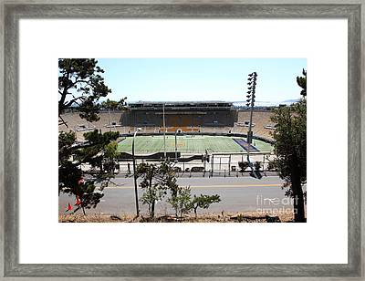 Cal Bears California Memorial Stadium Berkeley California 5d24656 Framed Print