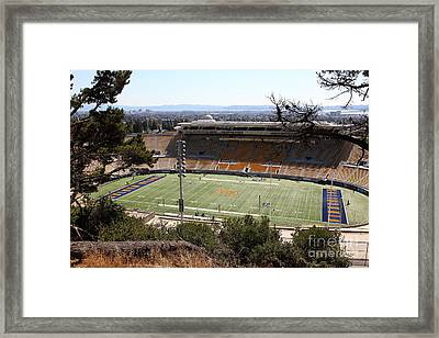 Cal Bears California Memorial Stadium Berkeley California 5d24659 Framed Print