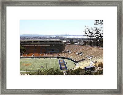 Cal Golden Bears California Memorial Stadium Berkeley California 5d24665 Framed Print