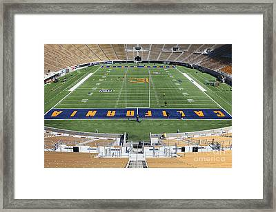 Cal Golden Bears California Memorial Stadium Berkeley California 5d24684 Framed Print