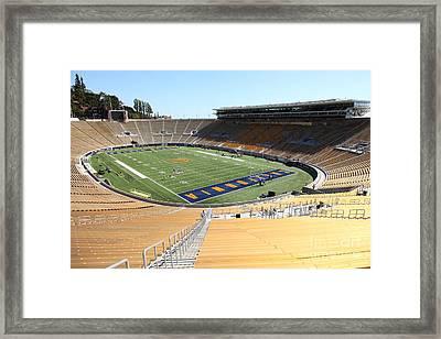 Cal Golden Bears California Memorial Stadium Berkeley California 5d24693 Framed Print