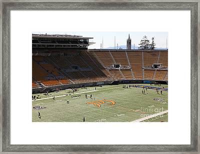 Cal Golden Bears California Memorial Stadium Berkeley California 5d24707 Framed Print