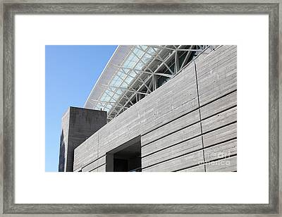 Cal Golden Bears California Memorial Stadium Berkeley California 5d24755 Framed Print by Wingsdomain Art and Photography