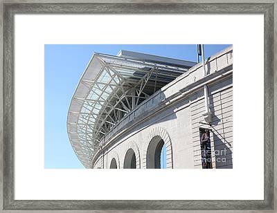Cal Golden Bears California Memorial Stadium Berkeley California 5d24757 Framed Print