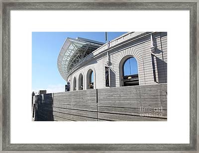 Cal Golden Bears California Memorial Stadium Berkeley California 5d24758 Framed Print by Wingsdomain Art and Photography