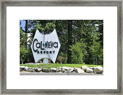 Cal Neva Resort - Lake Tahoe Framed Print
