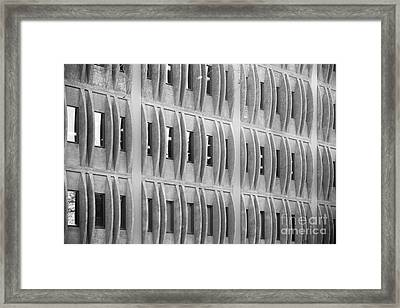 Cal Poly Pomona Detail  Framed Print by University Icons
