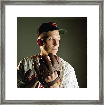 Cal Ripken Jr Framed Print by Retro Images Archive
