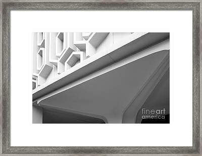 Cal State University Fullerton Pollak Library Framed Print by University Icons