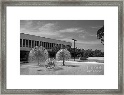 Cal State University Long Beach Student Union Framed Print