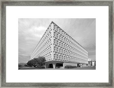 Cal State University Pollak Library Framed Print by University Icons